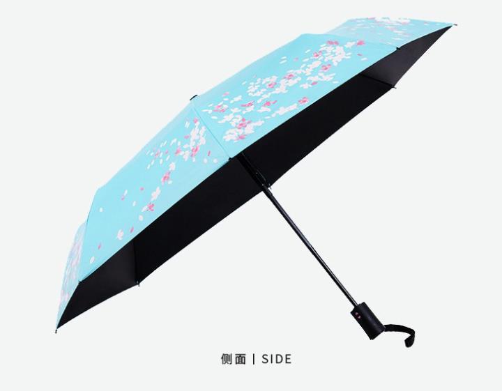定制广告伞 遇水变色雨伞定做厂家
