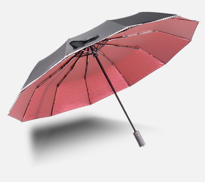 防嗮太阳伞定制 商务礼品晴雨伞折叠彩胶