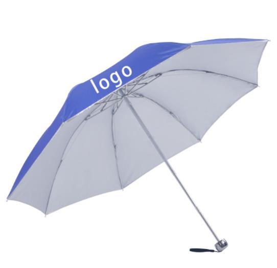 广告伞定制案例 印字防晒晴雨伞