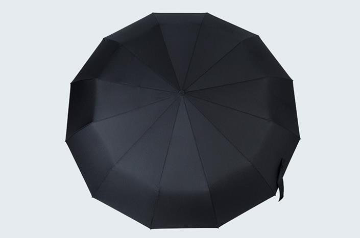 广告伞定做厂家 全自动开收折叠雨伞定做