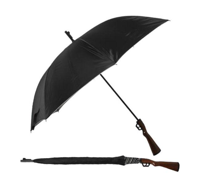 创意雨伞设计 步枪形状雨伞定做厂家