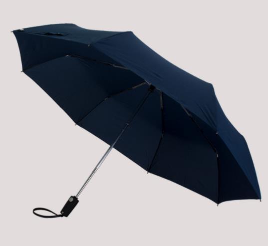 PU皮手柄防水雨伞定做 23寸10骨广告礼品伞
